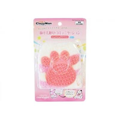 Купить в Красноярске Щетка- рукавичка для ухода за шерстью CattyMan  759 руб