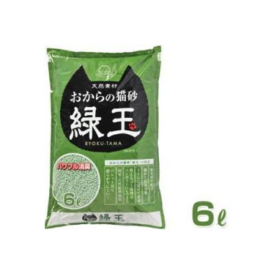 Hitachi Наполнитель соевый Окара с экстратом зеленого чая 6л