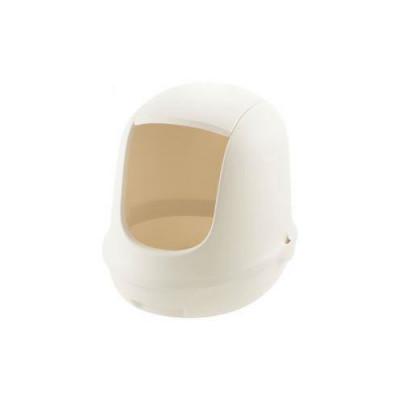 Richell Туалет для кошек Lapre Cat закрытый 37,5 × 48 × 40H (см) белый