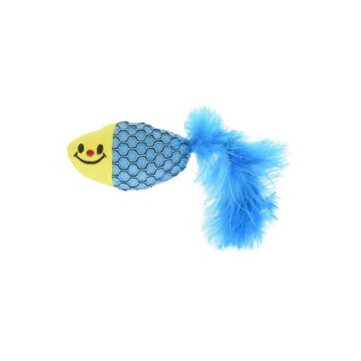 Tarky.Co Игрушка с мятой для ухода за зубами, рыбка