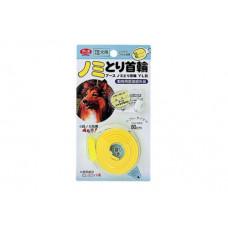 Earth Biochemical Ошейник против блох для крупных и средних пород собак, жёлтый 60см
