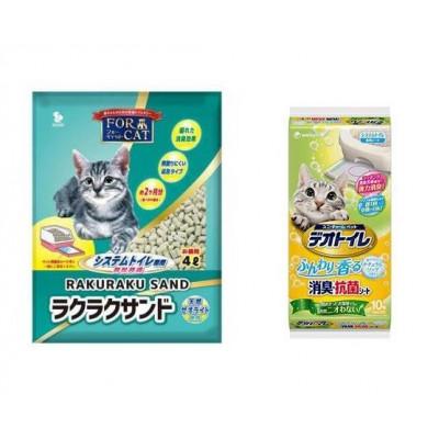 For Cat Наполнитель для биотуалета цеолитовый водоотталкивающий колбаски 4л купить в Красноярске по цене 898 руб.