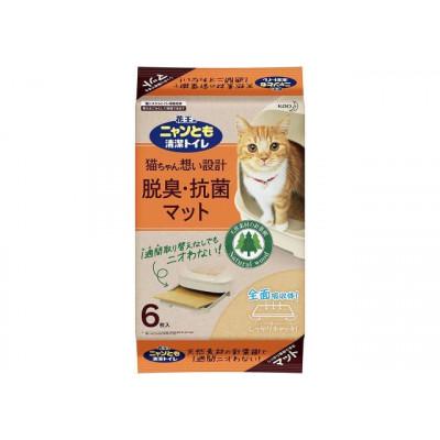 KAO Картридж для кошачьего туалета антибактериальный 6шт