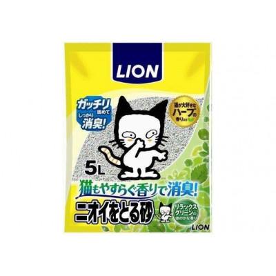 Купить в Красноярске не дорогой Lion Наполнитель бентонитовый для кошачьего туалета 5 л. Япония за 330 руб