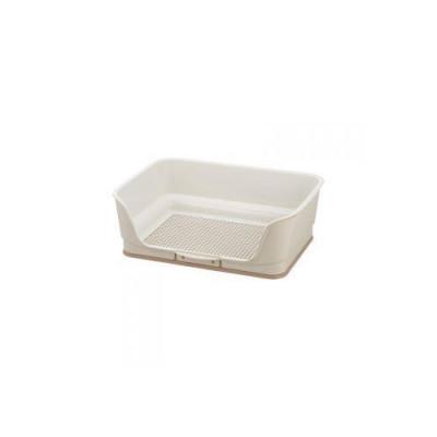 Биотуалет для собак мелких пород Richell бежевый 49,3 × 35,3 × 16,3Н (см)