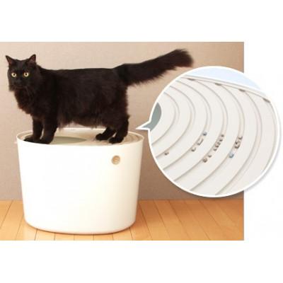 Купить в Красноярске  Iris Туалет для кошек с верхним входом за 3900 руб.