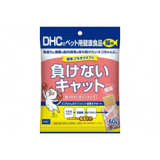 DHC Добавка в корм для кошек желеобразная, которая поддерживает здоровье кишечника и иммунитет Япония