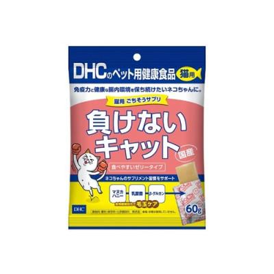 DHC Добавка в корм для кошек сохраняет зубы в чистоте и поддерживает здоровье! Япония