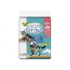 Подгузники для кошек размер S 3,0-5,0 кг (25-35) см 16 шт