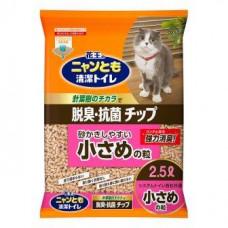 Kao Cat гранульный наполнитель для биотуалета, мелкие гранулы, которые кошке удобно копать, 2,5л.