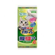 Unicharm антибактериальная салфетка для биотуалета, 10шт