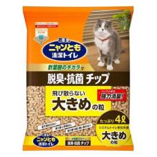 Kao Cat гранульный наполнитель для биотуалета, крупный, 4л.