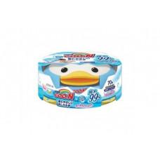 Goon Салфетки влажные для младенцев (пластик-бокс) 70шт